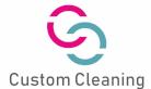 Custom Cleaning – takarítás szolgáltatás Logo